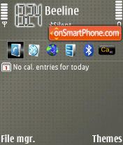 Dots theme screenshot