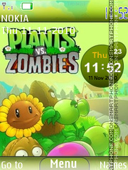 Plants vs Zombies theme screenshot
