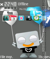 Cwampwc mroobot ipbox tema screenshot