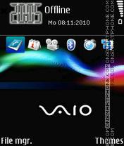 Скриншот темы Sony vaio 02