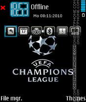 Champions league 09 theme screenshot