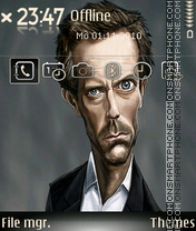 Hughlaurie theme screenshot