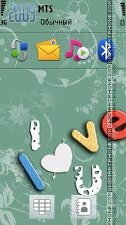 I Love You 33 es el tema de pantalla