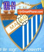 Malaga C.F. troll88 theme screenshot