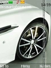 Aston Martin Vantage theme screenshot