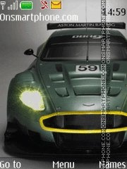Aston Martin DBR9 Theme-Screenshot