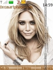 Mary-Kate Olsen tema screenshot