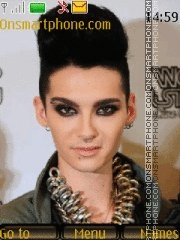 Bill Kaulitz theme screenshot