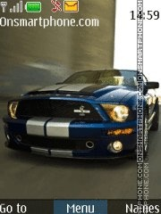 Shelby GT500 theme screenshot