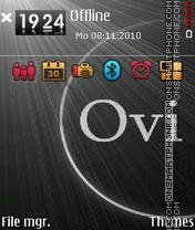 Скриншот темы Ovi3rd