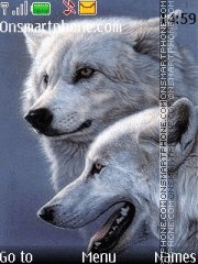 Wolfs theme screenshot