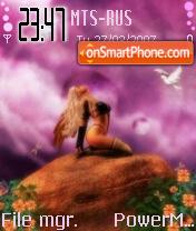 Alone tema screenshot