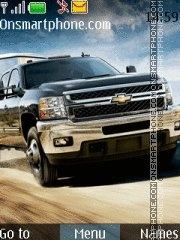 Chevrolet Silverado HD theme screenshot