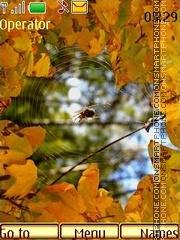 Last days of autumn theme screenshot
