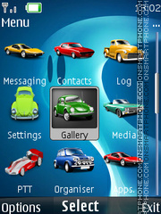 Car Icons tema screenshot