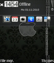 Apple 18 tema screenshot