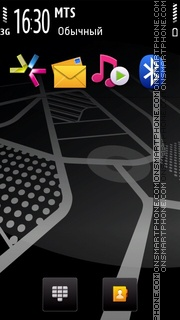 Nokia Navigator theme screenshot