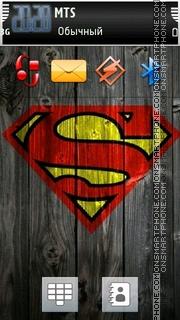 Superman 05 tema screenshot