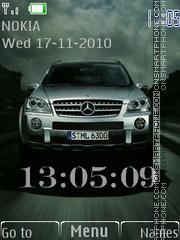 Mercedes theme screenshot