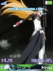 Bleach Ichigo es el tema de pantalla