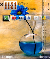 Flower 12 theme screenshot