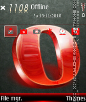 Opera 05 theme screenshot