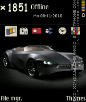 CC BMW Gina theme screenshot
