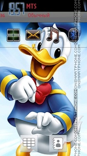 Donald 01 theme screenshot