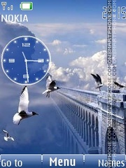 in heavens clock FL2.0 theme screenshot