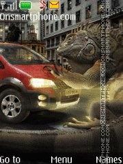 Fiat & Lizard theme screenshot