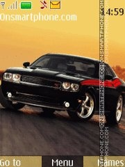 Dodge Challenger RT theme screenshot