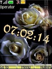 Roses anim swf es el tema de pantalla