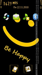 Be Happy theme screenshot