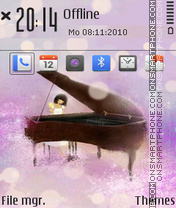 The piano 01 tema screenshot