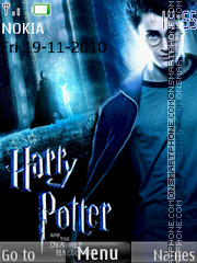 Harry Potter 7 theme screenshot