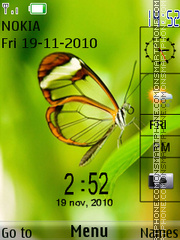 Butterfly 23 theme screenshot