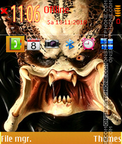 Predator 03 theme screenshot