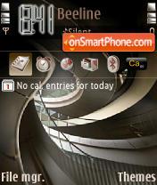 Capture d'écran Swirling Pathway thème