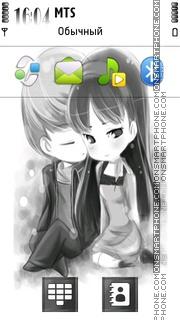 Cute Love 05 es el tema de pantalla