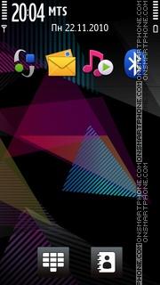 Nokia-Pieces es el tema de pantalla