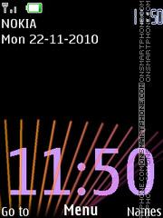 Clock 156 theme screenshot