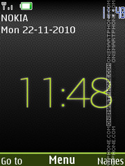 Clock 399 theme screenshot
