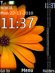 Shafran Clock 239 theme screenshot