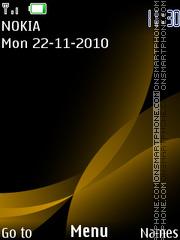 Yellow 125 theme screenshot
