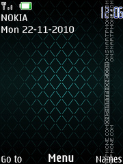 Green 247 theme screenshot