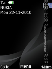 Black 136 theme screenshot
