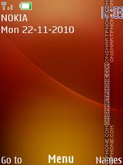 Orange 326 theme screenshot