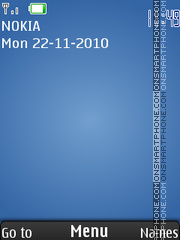 Blue 522 theme screenshot
