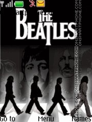 The Beatles es el tema de pantalla