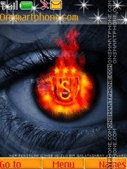 Galatasaray theme screenshot